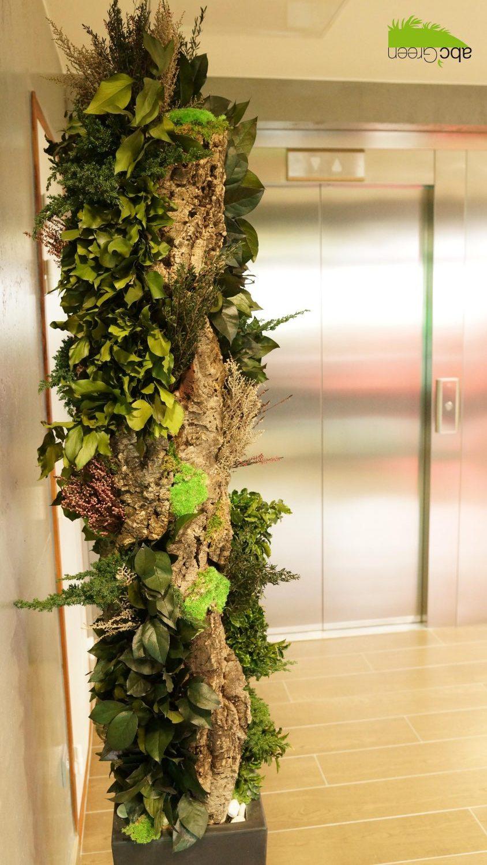 mur végétal intérieur bureaux 34