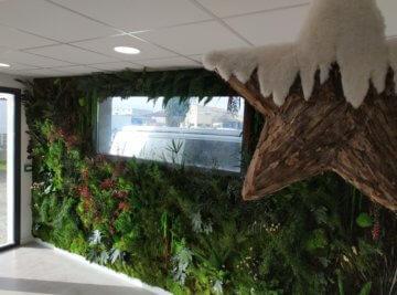 mur végétal entreprise nimes